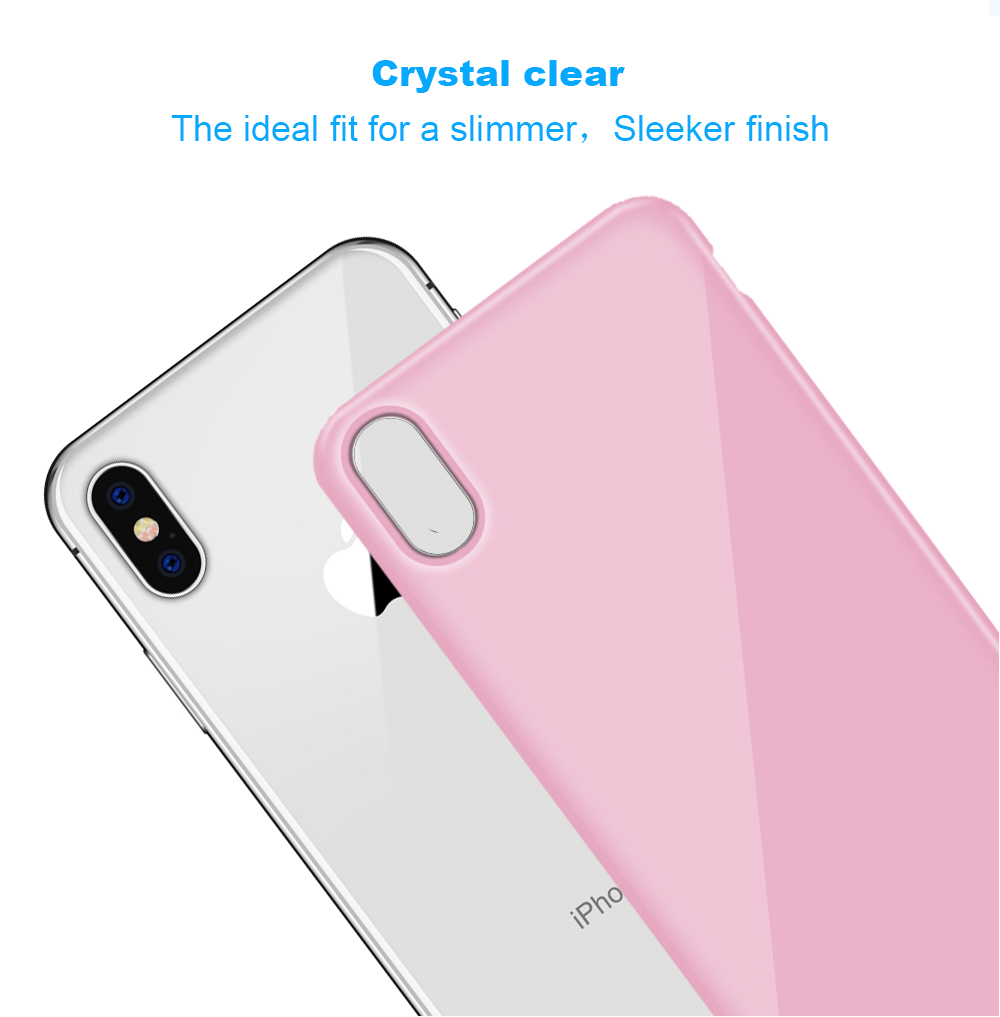 Ascromy For iPhone X Candy Color Case Luxury Soft TPU Cute Shockproof Cover Fundas For iPhone 8 Plus 7 6 6S 10 Coque Accessories (2)