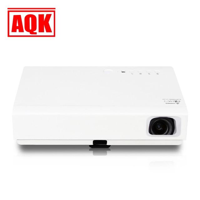 Proyector inteligente Andriod 4.4 OS wifi proyectores full HD led soporte DLP 1080 P 3d Tv proyector de cine 3800 lúmenes a Casa teatro