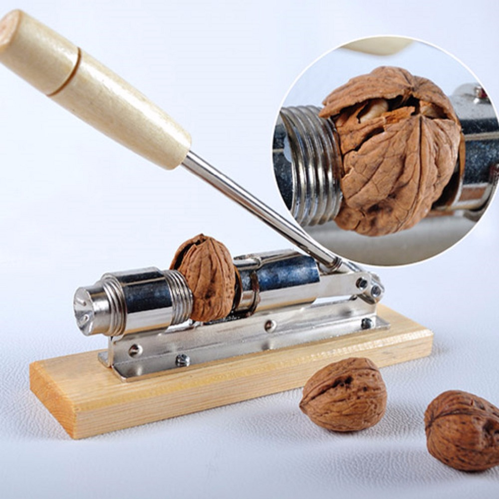Heavy Duty Pecan Filbert Walnut Nut Hazelnut Hazel Cracker Nutcracker Clamp Plier Sheller Crack almond Kitchen