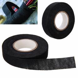 1 шт термостойкие жгут ленты маячит ЖГУТ матерчатая тканевая лента клейкий кабель защиты 19 мм х 15 м