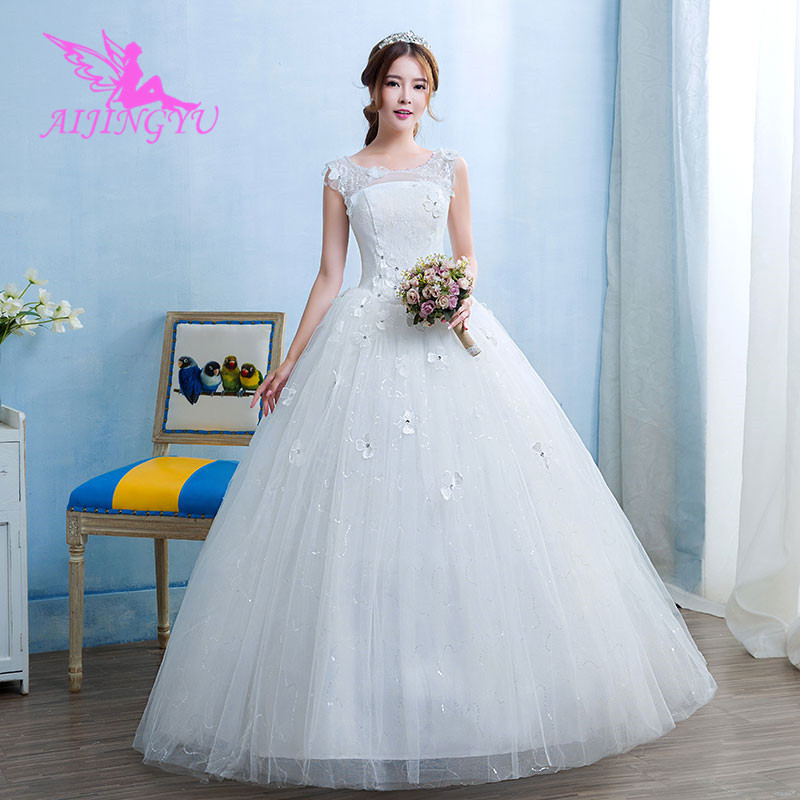 AIJINGYU 2019 wedding gown dress long graduation dresses WK476