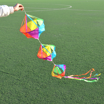 free shipping high quality kite windsocks large kite tails ripstop nylon fabric eagle kite flying outdoor toys hcxkite factory free shipping high quality 4m city elf kite with kite line various colors choose large eagle kite ripstop nylon fabric kite