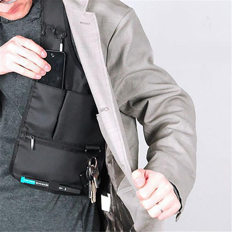 Armpit Bag Anti-Theft Safety Bag Underarm Shoulder Tactical Accessory Pouch Burglarproof Security Holster Strap Messenger Bags