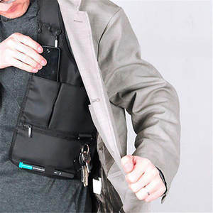 Pouch Holster-Strap Armpit-Bag Messenger-Bags Tactical-Accessory Anti-Theft-Safety-Bag
