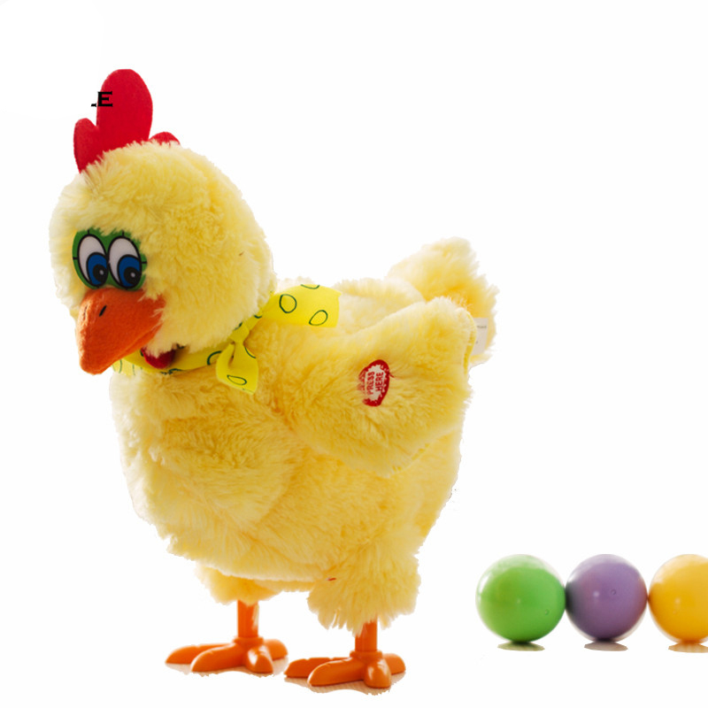 Hen Funny Chicken Toy Hen Lay Egg Joke Kid Puzzle Toy Gift  Home Decoration