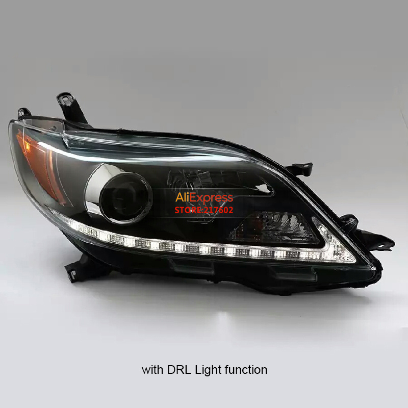 for 2015-up Toyota Sienna bi-xenon car headlight assembly auto head lamps Car-styling with DRL daytime running light function special car trunk mats for toyota all models corolla camry rav4 auris prius yalis avensis 2014 accessories car styling auto