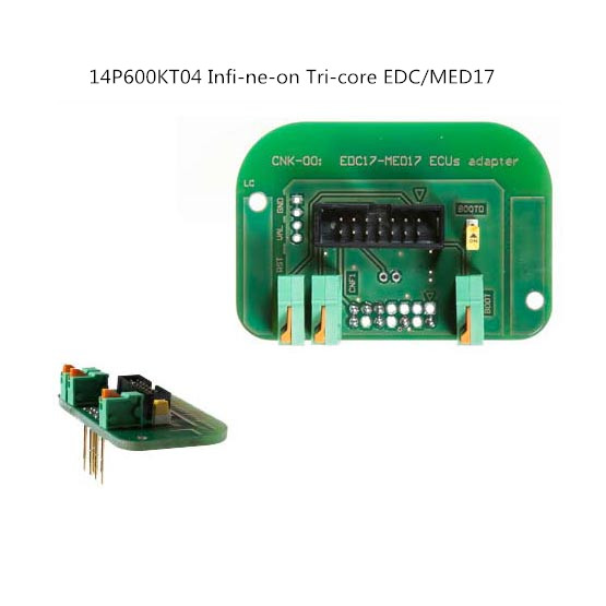 US $10 8 |Aliexpress com : Buy Promotion 14P600KT04 for Infin eon Tric ore  ED C/MED17 BDM adapter from Reliable Code Readers & Scan Tools suppliers on