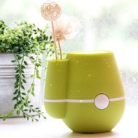 Creative Fresh Air Mini Humidifier Aroma Diffuser Air Humidifier USB Ultrasonic Essential Oil Aroma Atomizer WA017