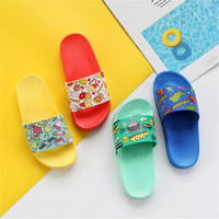 2019 kids slippers summer indoor baby bathroom slippers children flip flops home girls beach slippers boys water shoes