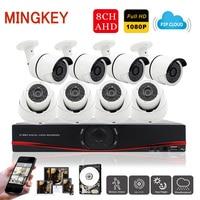 8CH 1080P CCTV Camera System 2 0 CCTV Kit Home Security Camera System Outdoor Indoor IR