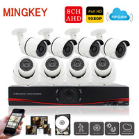 8CH 1080P CCTV Camera System 2 0 CCTV Kit Home Security Camera System Outdoor Indoor IR
