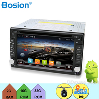 2 din Android 9.0 cassette player for Universal Car Radio Tape Recorder 6.2 inch with WIFI GPS Navigation Bluetooth Free Map Cam