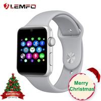 LEMFO LF07 Bluetooth умные часы Поддержка sim-карты Шагомер Bluetooth 4,0 голосовые интерактивные Smartwatch для IOS Android телефон