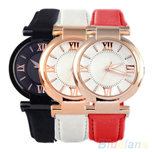 Sizzling Gross sales Traditional Ladies's Noble Luxurious Leather-based Band Quartz Fashionable Wrist Watch