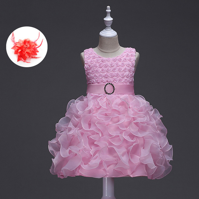 91c64d0acca2 American Girl Pageant Princess Style Wedding Formal Dress for ...