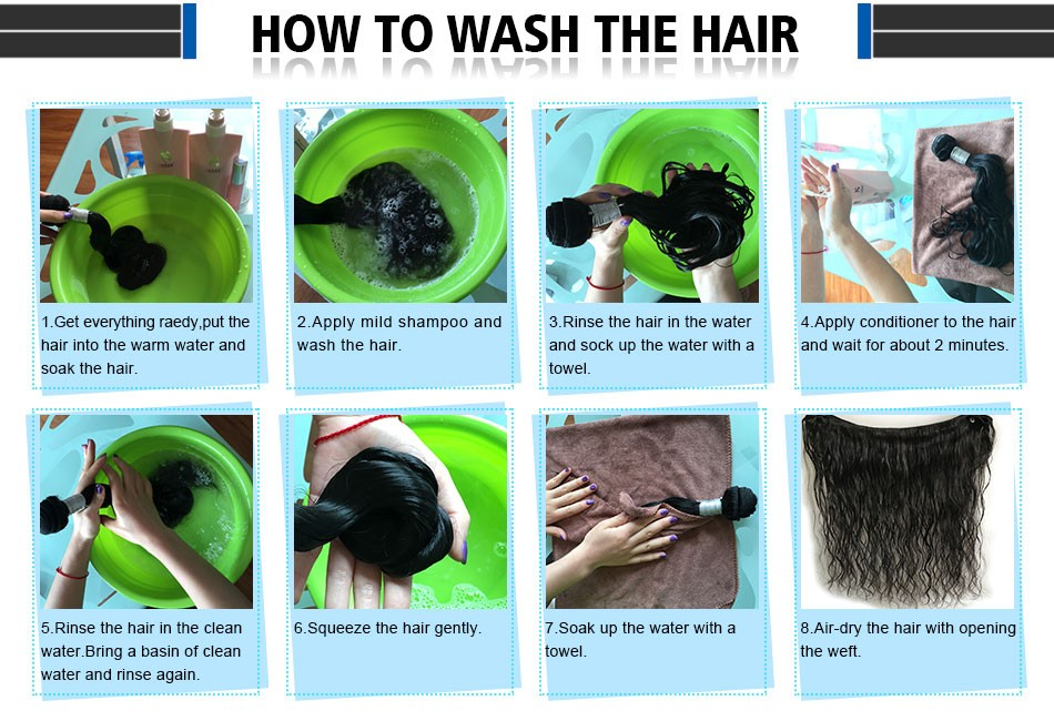 7-how to wash hair