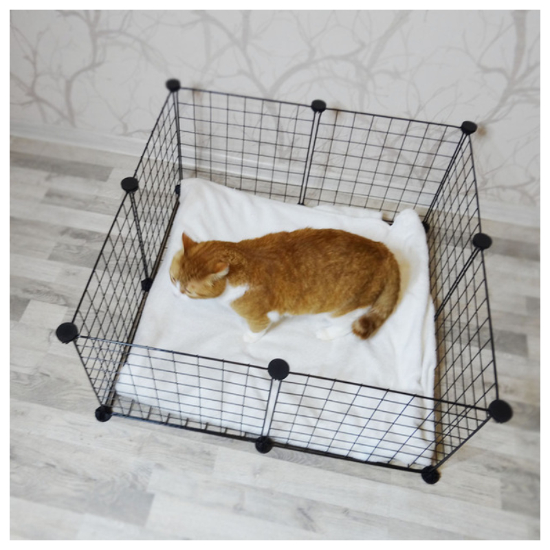 Foldable Pet Playpen Fence For Cat House Exercise Aviary For Pets Fitting For Dog Iron Fence Puppy Kennel House For Rabbit 4