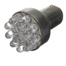 2x T25 1157 BAY15D 380 RED 12 LED SMD Car Parar Brake Cauda lâmpada Luz Bulb 12VDC