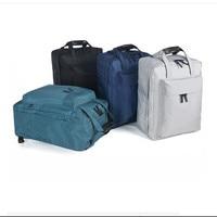 Double Make Up Storage Bag Gadget Travel Clothes Scoks Organizador Backpack With Hidden Zipper Pocket Sandwich