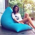 Синий стул для взрослых  сумка для бобов  уличная Сумка-бини  сидите на нем  мебель  водонепроницаемая сумка для бобов  диванные кресла