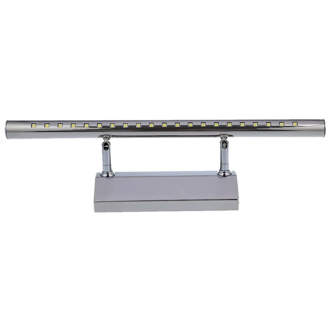 5 w 21 led 5050 smd acciaio inox specchio lampada da bagno lampada da parete lampada