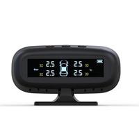 Hidden TPMS Automotive solar wireless tire pressure monitoring Car alarm tire pressure monitoring External Auto Accessories
