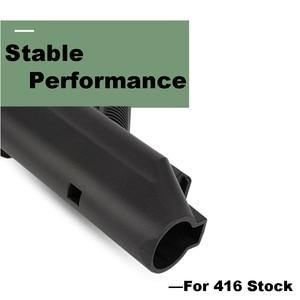 Image 3 - Anti Slip 416 Nylon Stock Minimalist Tactical Rife Mil spec For Gel Blaster Paintball Airsoft Air Guns Accessories