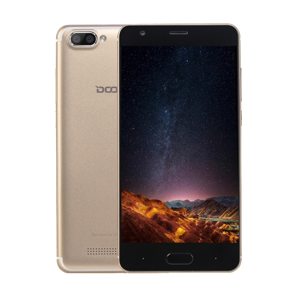 Original DOOGEE X20 ROM 16GB Mobile 2GB RAM 5.0 inch Screen Android 7.0 Smartphone MT6580 Quad core 1.3GHz Cellphone 3G WCDMA