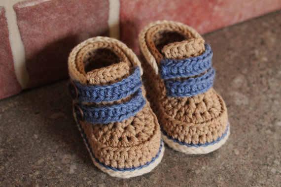 Bebê meninos bootees, crochê meninos sapatos bebê cairo botas, crochê bebê booties chá de fraldas presente szie: 9 cm, 11cm