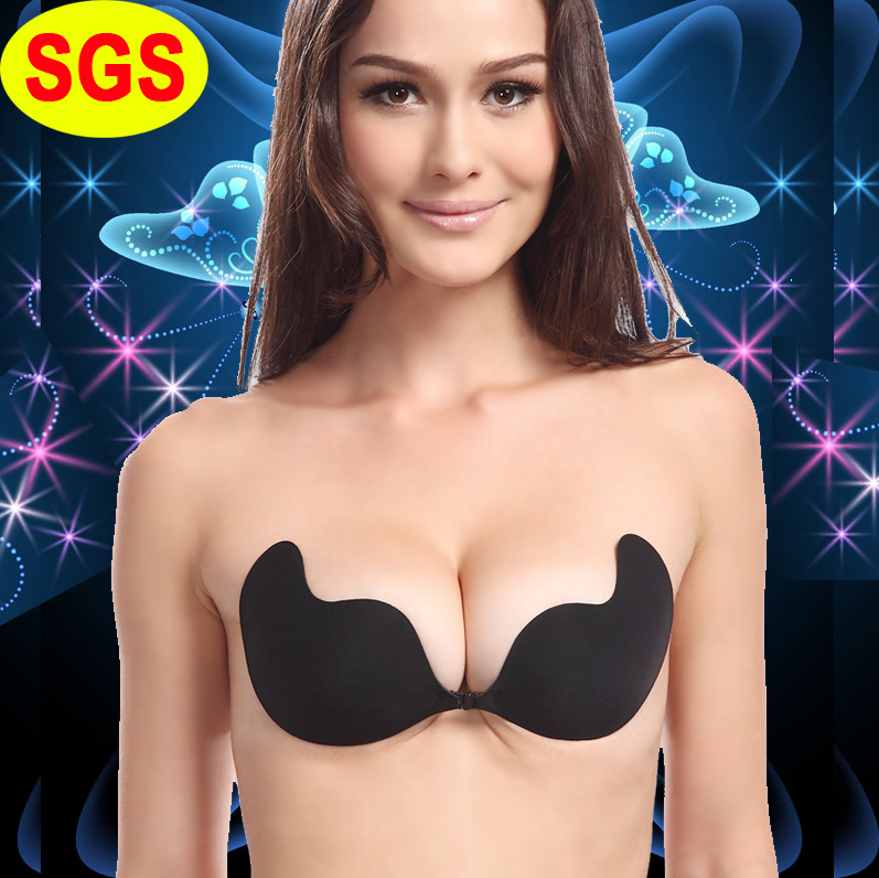 SGS Quality Backless Strapless Adhesive Light cloth Bra ...