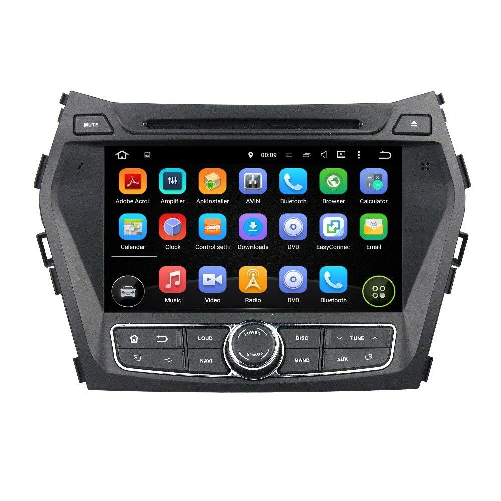 KLYDE 8 2 Din Android 8.1 Car Radio 2+16GB For Hyundai IX45 Santa Fe 2013 2014 Car Audio Multimedia Player Quad Car Stereo DVD