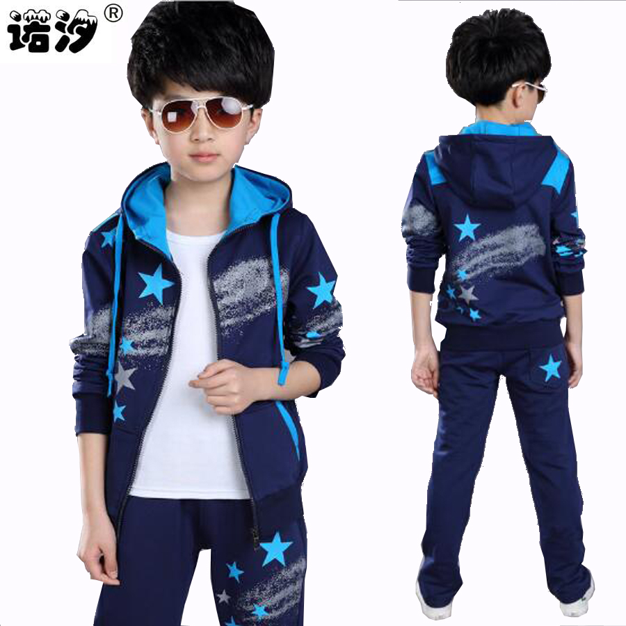 Boys clothes 9-15 Y Spring Autumn tops+pants 2 pcs sets kids sport jacket children clothes boy long sleeve boys outwear clothing autumn winter boys clothing sets kids jacket pants children sport suits boys clothes set kid sport suit toddler boy clothes