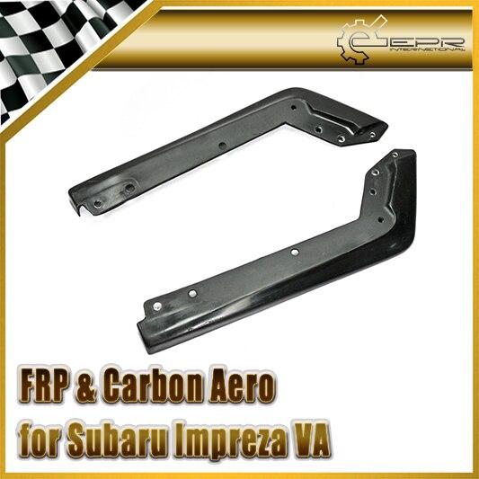 Accessoires de voiture FRP fibre de verre ligne de fond Spat arrière en Fiber de verre Kit de séparateur de pare chocs adapté pour 2014 2018 Impreza WRX VAB VAF STI