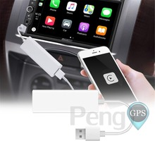 Plug And Play Usb Carplay Dongle For Iphone Ios System Android Phone Car Dvd Player Navigation