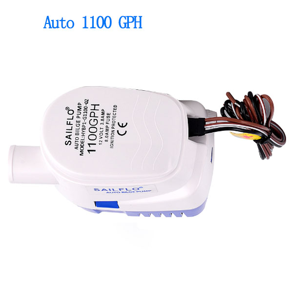 submersible boat bilge pump 1100GPH 12V electric water pump with automatic float switch automatic electric water pump float switch dc float switch pump bilge pump switch water level controller mk ncfs12