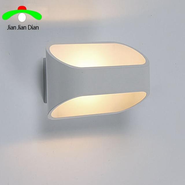 Bett Beleuchtung | Moderne Led Kurze Wohnzimmer Wandleuchte Bett Beleuchtung Led