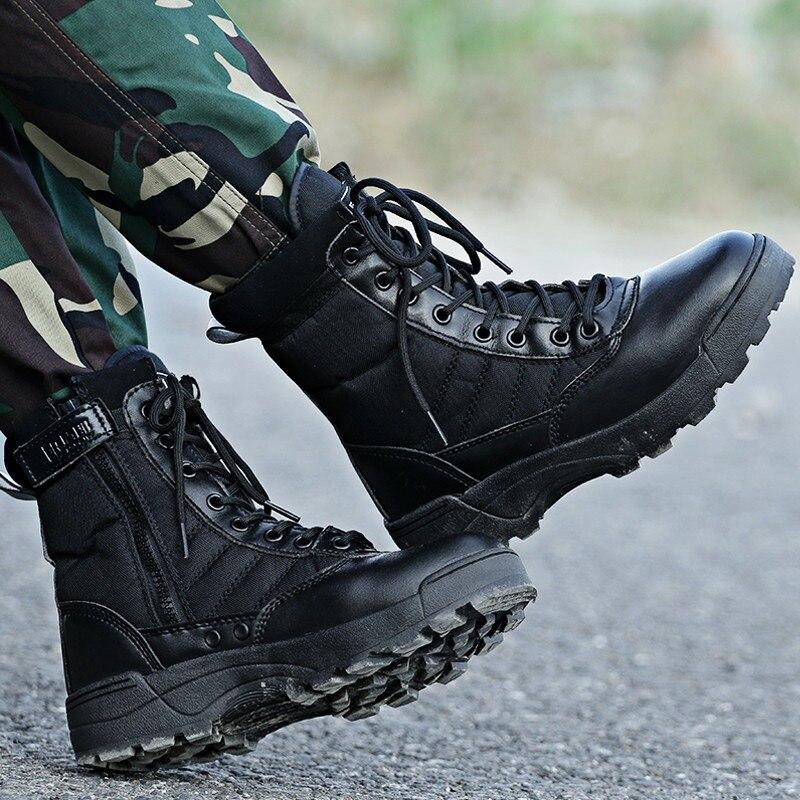 купить Military Hiking Shoes Mens Women Climbing Shoes Waterproof Trekking Shoes Outdoor Camping Hiking Shoe Army Hiking Boots недорого