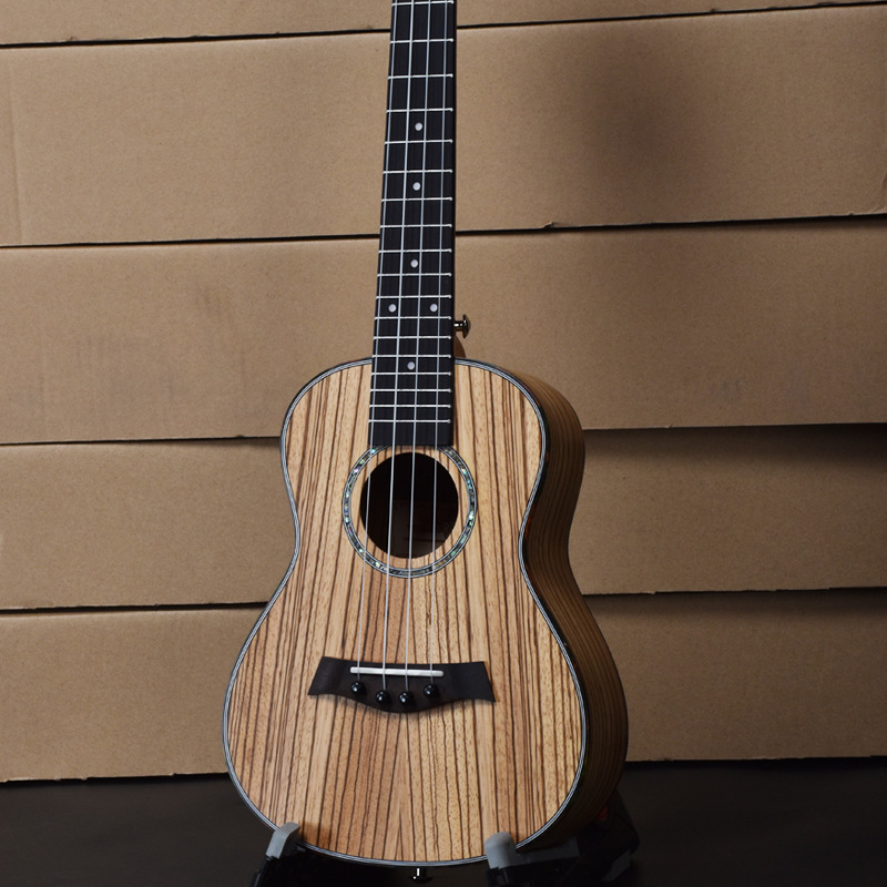 Concert Ukulele de 23 Pulgadas Hawaiian Guitar 4 Cuerdas de Ukelele Guitarra Uke
