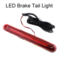 New Arrival Red 24 LED 12V Energy Saving Car Truck Vehicle Mount Brake Stop Warning Tail