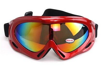 Prix pour Livraison Gratuite! POLISI P-301-GU Enfants Ski Snowboard Patinage Lunettes Traîneau Lunettes Ski lunettes de Soleil Moto Vélo Lunettes