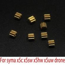 8 шт. Drone двигателя Пластик Шестерни или металла Шестерни запасных Запчасти Аксессуары Syma X5C X5SC X5SW X5HW X5HC X5UC X5UW