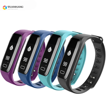 Bluetooth 4.0 Smart Health Dynamic Bracelet Heart Rate Monitor Blood Pressure Wristband Pedometer Activities Fitness Tracker fashion fitness bracelet tracker wristband heart rate monitor f1 smart bracelet blood pressure with pedometer bracelet