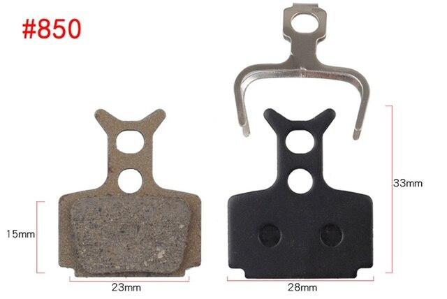 Bremsbeläge para Shimano//Tektro frenos de discos pavimento semi-metálico b01s nuevo