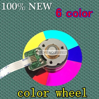 40MM diameter projector color wheel for optoma H27 HD703 6 color