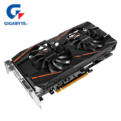 Gigabyte graphics card Radeon RX580 8G rx 580 Powered by Radeon Intuitive AORUS Graphics Engine 256 Bit 8GB AMD PC Graphic card