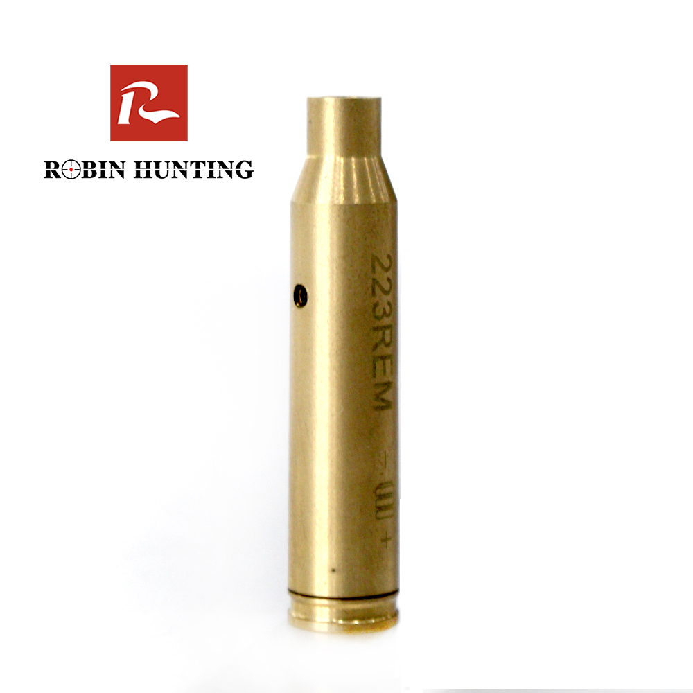Robin Hunting Red Dot Cartridge Bore Sight 223REM Boresight For Air Gun Rifle Scope Hunting Accessory