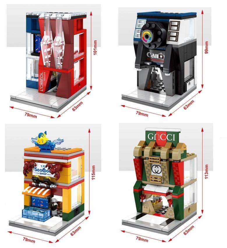 Blocos tijolos para construção blocos mini Packing : no Original Box