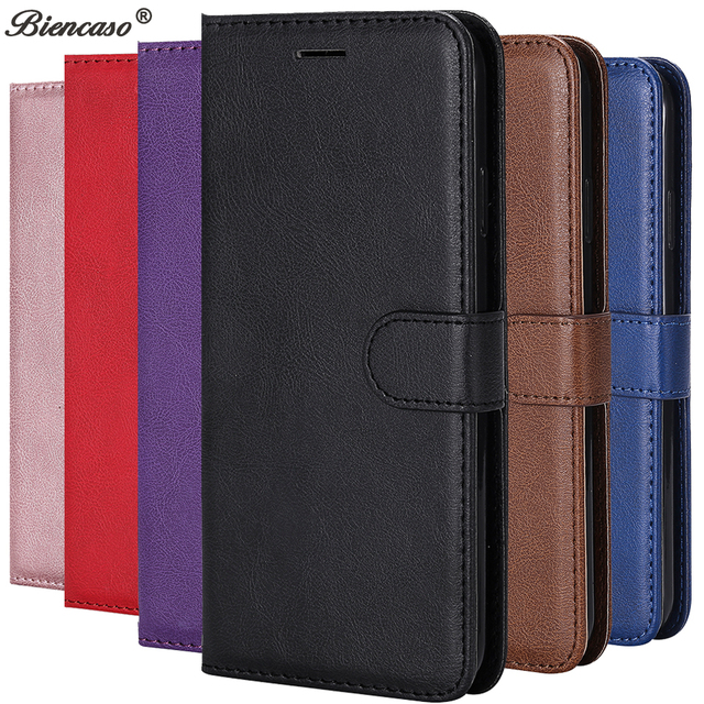 SFor iPhone XS Max Flip Einfarbig Fall Für iPhone X XR 5 5 S SE 6 6 S 7 8 Plus Einfache Leder Brieftasche PU Handy Abdeckung B128
