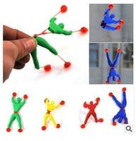 NEUE Neuheit produkte spielzeug schleim Viskose Klettern Spider-Man one piece Action Figure lustige gadgets PVC Spiderman für kinder spielzeug
