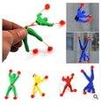 Nuevos productos de la novedad de juguete de lodo viscoso escalada hombre araña-Una pieza figura de acción divertido gadgets de Spiderman para niños juguetes
